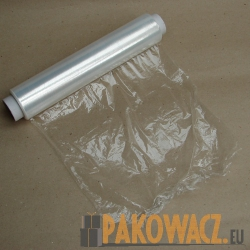 FOLIA STRETCH SPOŻYWCZA TRANSPARENT 30/200